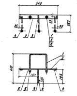 Кронштейн Р-3 (3.407.1-136.23.02) 2,2 кг
